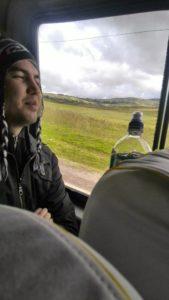 Yo en bus