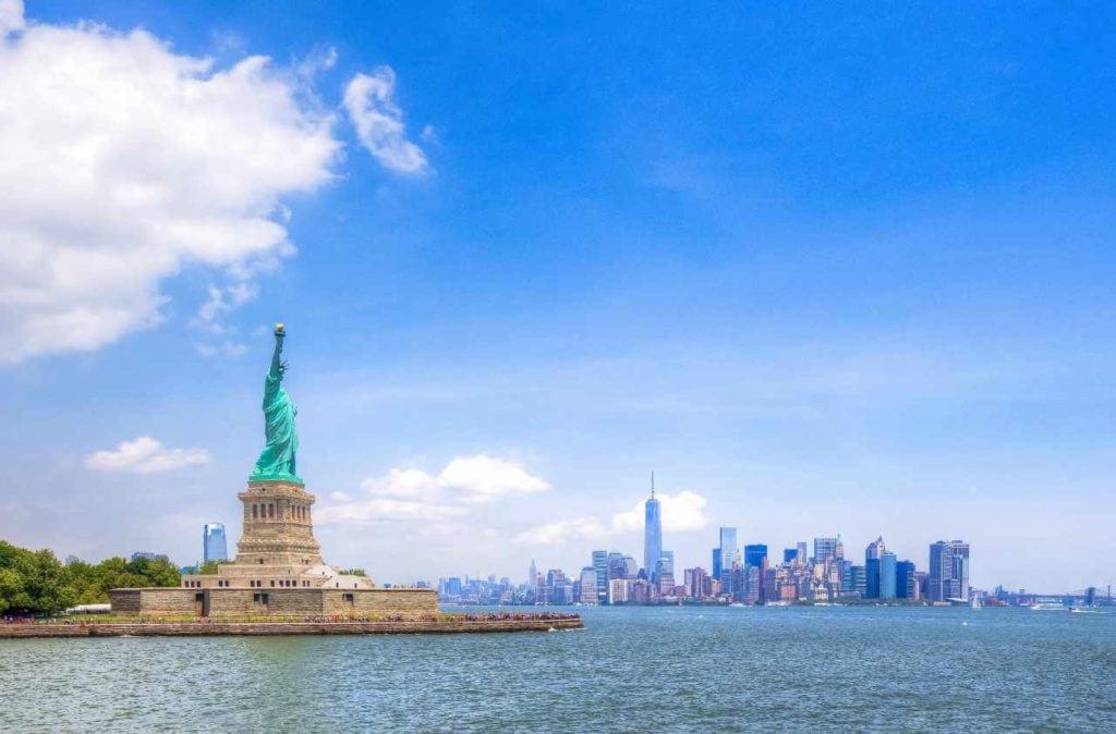 New York: Estatua de La Libertad