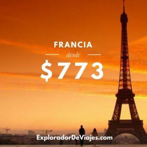 Vuelo más barato a París desde Lima