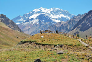 Parque Provincial Aconcagua en Mendoza