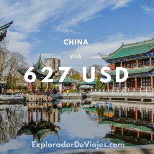 Vuelo más barato a Shanghai desde México