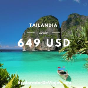 Vuelo más barato a Tailandia desde México