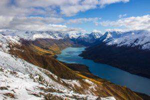 Lago Eklutna en Alaska