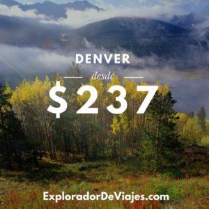 Vuelos más barato a Denver desde Costa Rica