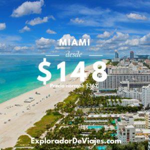 Vuelo más barato a Miami desde Costa Rica