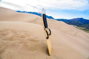Sandboard Great Sand Dunes