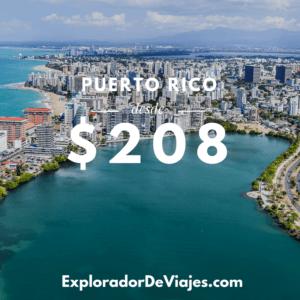 Vuelo más barato a Puerto Rico desde Costa Rica