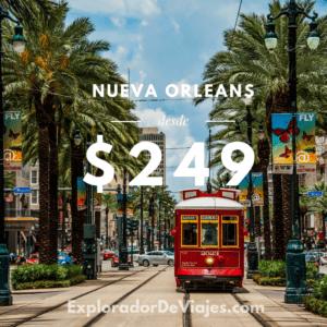 Vuelo más barato a Nueva Orleans desde Costa Rica