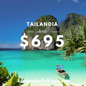 Vuelo más barato a Tailandia desde Costa Rica